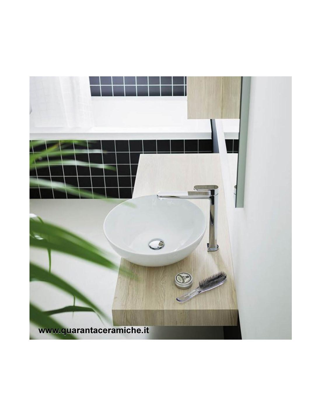 Arbi Shelf For Basin Support Almond W 105 X D 45 5 X H 8 Cm