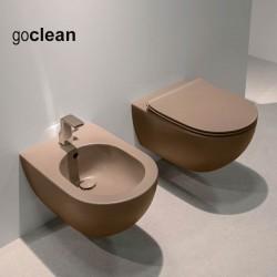 Ceramica Flaminia App FANGO vaso sospeso Goclean bidet e coprivaso rallentato slim