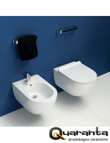 Flaminia App wall hung toilet pan...