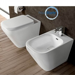 Ideal Standard Tonic II kit filo muro vaso AquaBlade, bidet e coprivaso rallentato