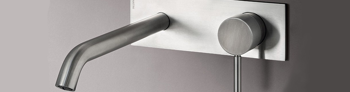Wall-mounted tap