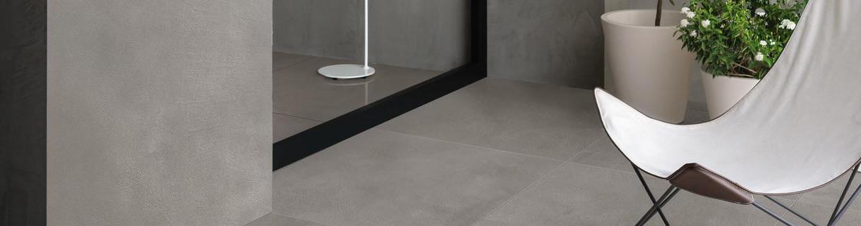 Floor - Outdoor - Tiles - Resin-Cement - Look | Quaranta Ceramiche srl