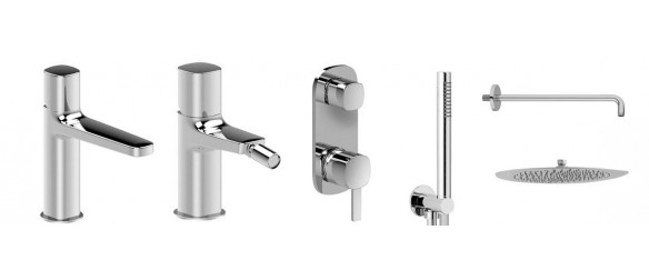 Set Basin Bidet and Shower