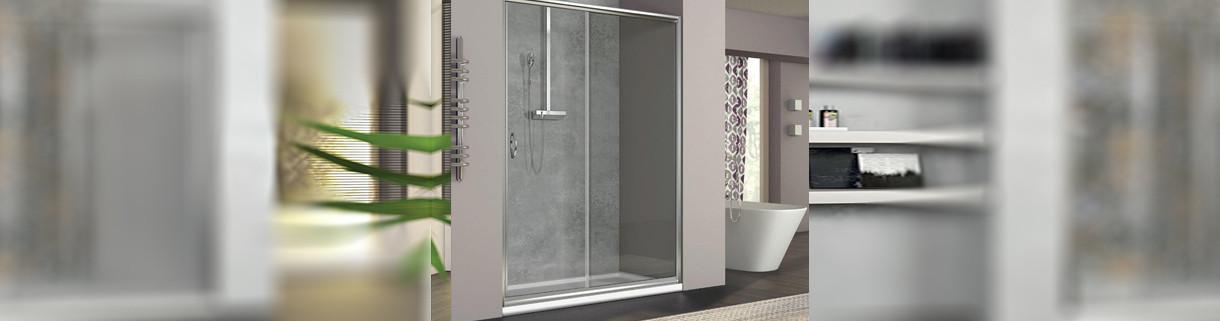 shower - Alcove - from96-145 - box - bathroom   Quaranta Ceramiche srl
