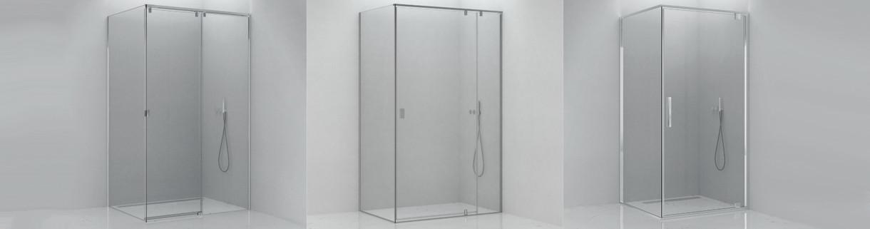 shower - Corner - box - bathroom | Quaranta Ceramiche srl