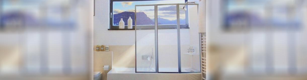 Shower - Wall for Bathtub - Bathroom | Quaranta Ceramiche srl