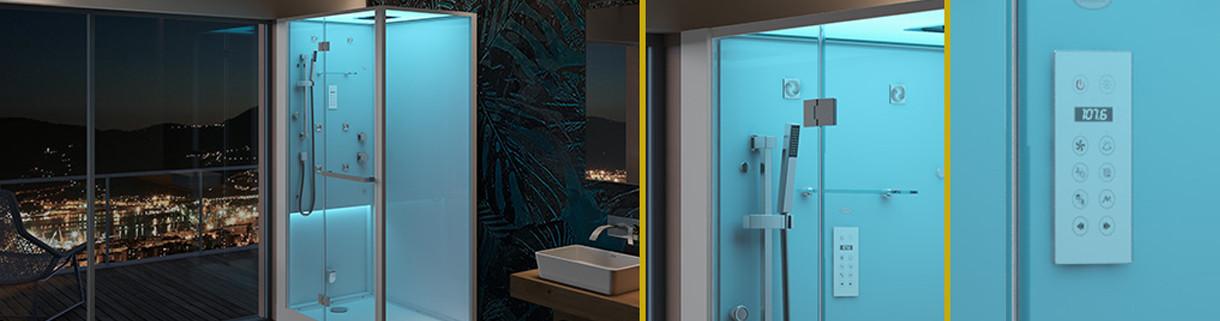 Multifunctional shower - paneel - box - bathroom | Quaranta Ceramiche