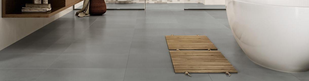 Floor - Indoor - Tiles -Resin-Cement-Look-Stoneware|Quaranta Ceramiche