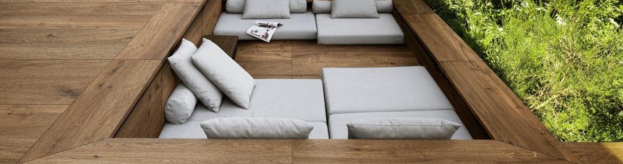 Floor - Outdoor - Tiles - Wood-Look- Stoneware| Quaranta Ceramiche srl