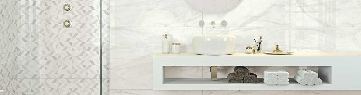 bathroom - Wall Tiles - Marble - stoneware | Quaranta ceramiche srl