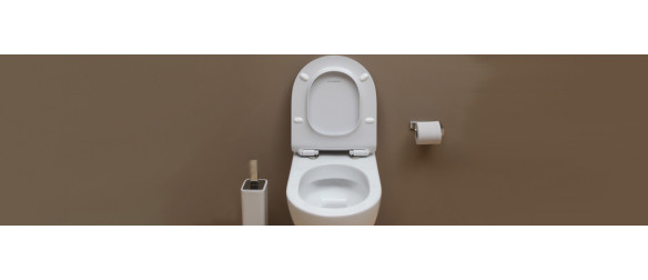 Toilet with seat