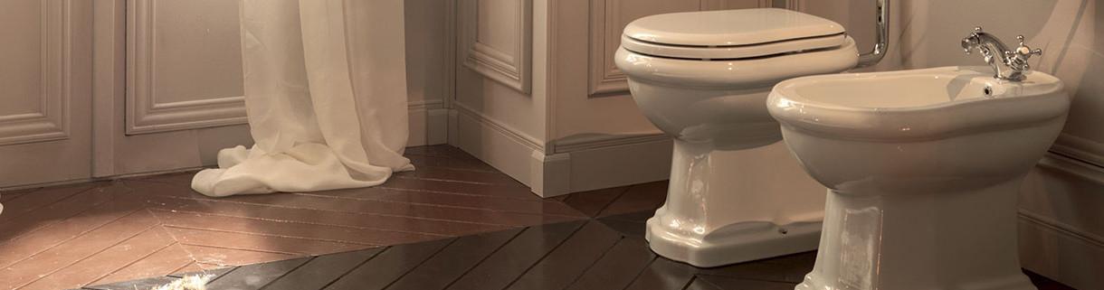 traditional sanitary ceramics - toilets - bidet | Quaranta ceramiche